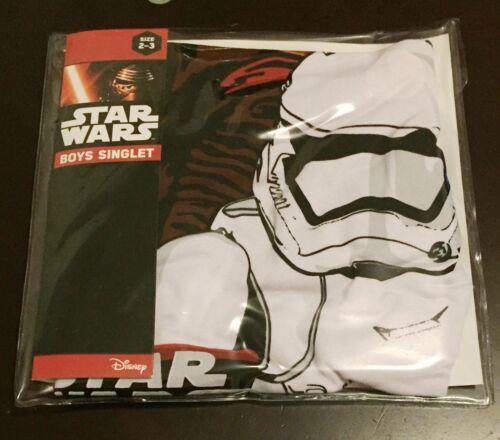 Star Wars Force Awakens Singlet Size 2-3 Brand New Sealed First Order Kylo Ren