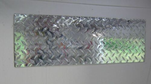 Aluminium Diamond Plate étagère