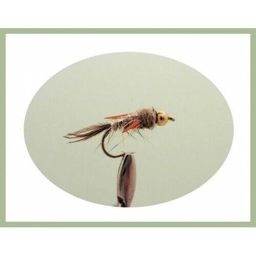 Taille et Quantité Gamme de Couleurs EVIL WEEVIL mouches goldhead Nymphe Truite Mouches