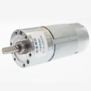 Details about JGB37-545 12V / 24V 7-1000RPM DC Gear Motor Large Torque For  DIY Smart Car