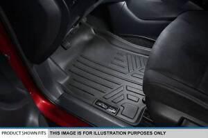 SMARTLINER Floor Mats 1st Row Liner Set Grey for 2008-2018 Dodge Grand Caravan Chrysler Town /& Country