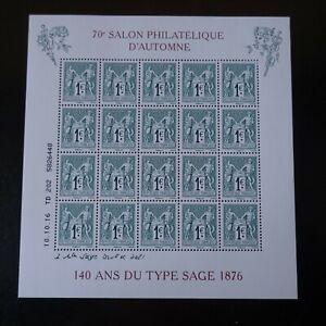 Bloc-Sheet-140-Years-of-Type-Sage-N-5094-5095-Neuf-Luxe-Mnh