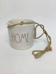 NEW-Rae-Dunn-HOME-Hanging-Planter-Pot-Farmhouse-W-RED-LL