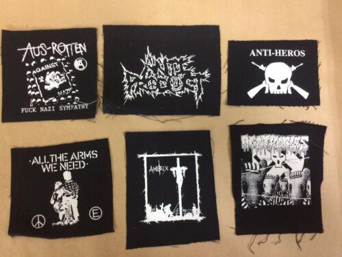 Hard Core Crust Grind Core Vegan A Punk Peace Anarcho Patches Metal,