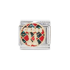 Rainbow Flag enamel Italian charm fits 9mm classic Italian charm bracelets