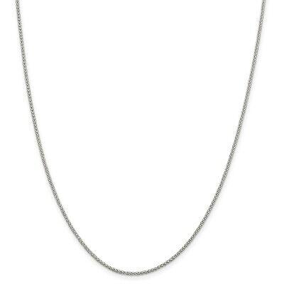 Argent 925 Chaîne Serpent colliers largeur 6 mm chaîne Fit Pendentif Bijoux 16-30 in
