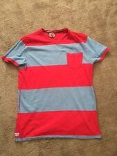 'Next' - Mens Tee-Shirt - Red & Grey - size L