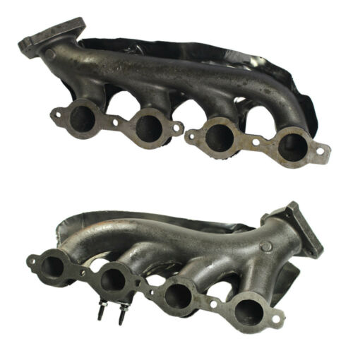 Pair Exhaust Manifold Left Right Side for Silverado Escalade Savana Avalanche H2