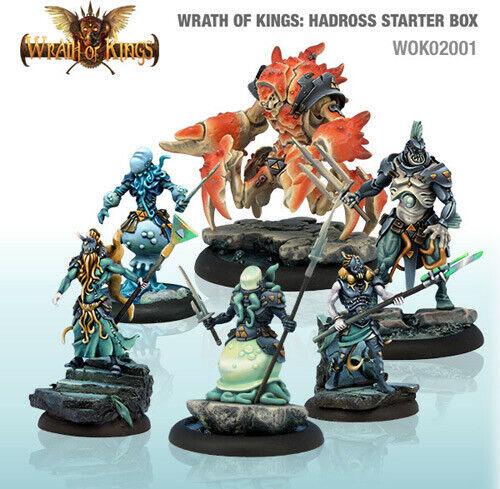 Wrath Of Kings House Hadross Starter Box Tridente Regno Guerra Fantasy Wfb