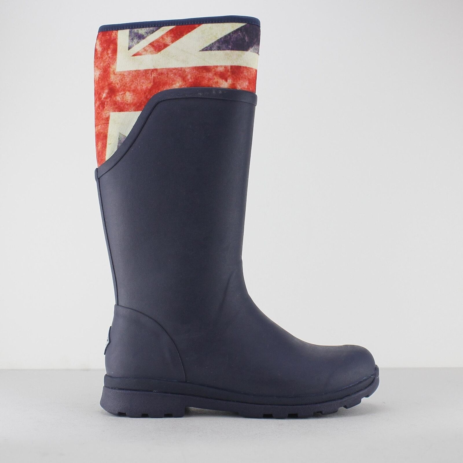 Entrega rápida y envío gratis en todos los pedidos. Muck botas botas Wellington alto Cambridge señoras para mujer mujer mujer azul marino Vintage Union Jack  diseños exclusivos