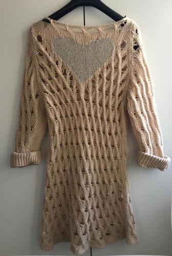 Knitted Jumper Sweater Barbieri uk 12 Set By Simona 10 M Twin Size 42 Long W1BnIfR1x4