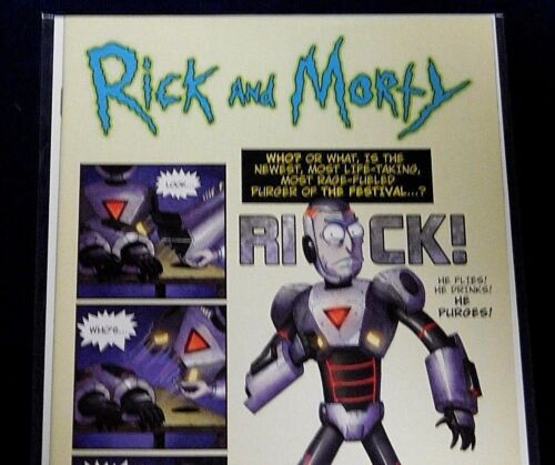 Rick and Morty Issue #41  Purge Rick Variant *We Combine Shipping*