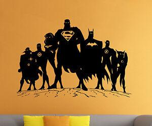 Marvelous Image Is Loading Superman Wall Decal Vinyl Sticker Comics Superhero Atr