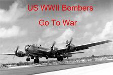 US Bombers Go To War WWII B-17 B-24 B-25 B-29 DVD