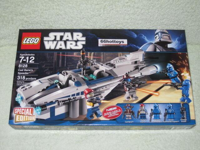 LEGO STAR WARS 8128 Cad Bane's Speeder Lego 8128 NEW