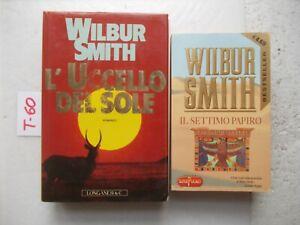LIBRO-IL-SETTIMO-PAPIRO-L-039-UCCELLO-DEL-SOLE-WILBUR-SMITH-2-LIBRI