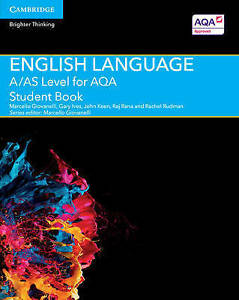 FREE-1st-P-amp-P-A-AS-Level-for-AQA-English-Language-Student-Book-LIKE-NEW