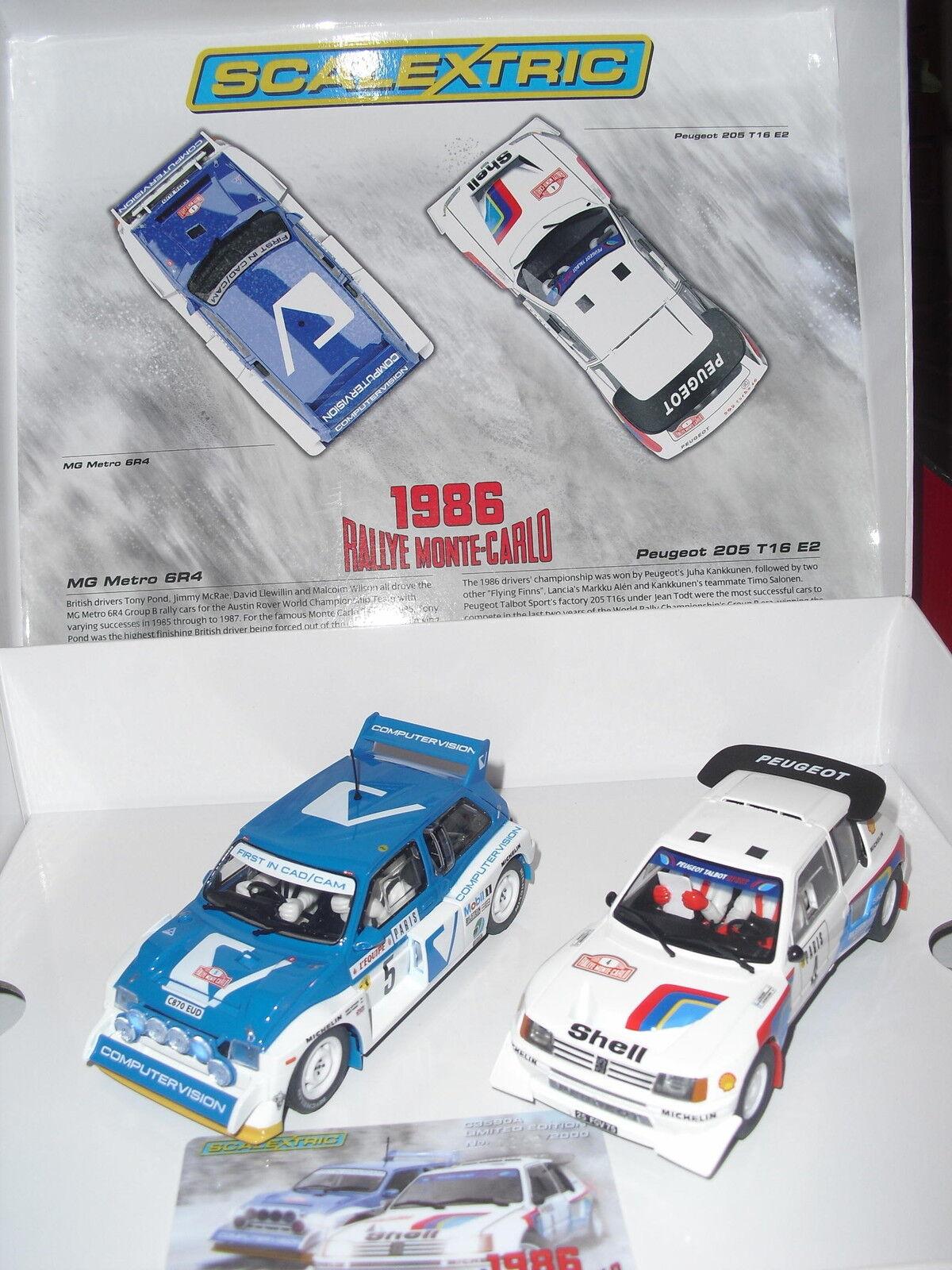 SCALEXTRIC C3590A 2018 Rally Monte-Carlo   Nuevo  1/32 New