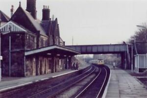 Wrexham. 6 Ruabon Railway Station Photo Chirk Cefn to Johnstown and Legacy