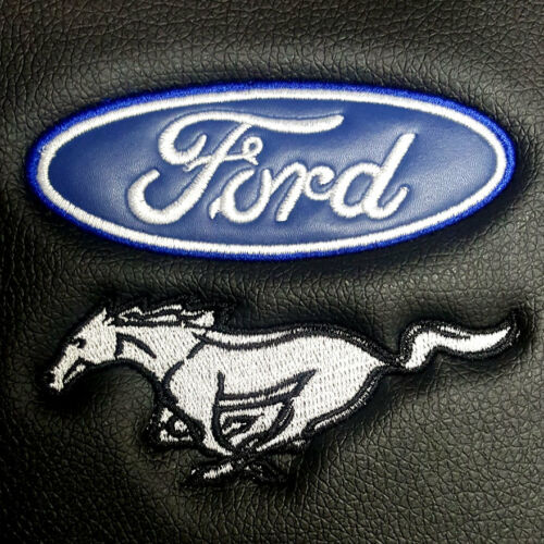 Brand New Ford Mustang Synthetic Leather Sideless Car Truck Front Seat Cover