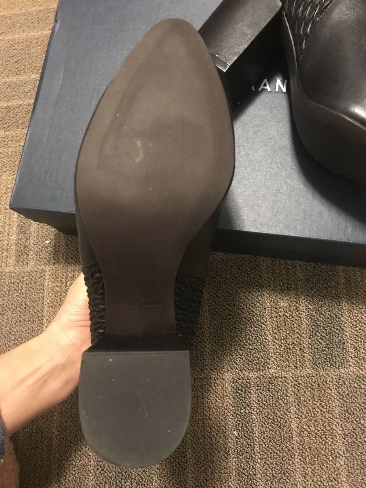 Cole Haan Leather Booties , Size 7 .Retail    250 e3768e