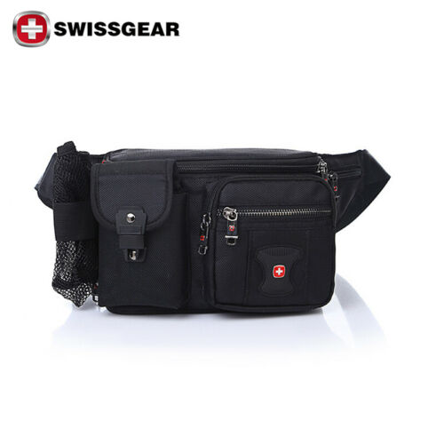 SwissGear Waist Bag Running Belt Bum Pack Hike Sports Pouch Hip Fanny Travel Bag