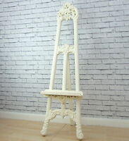 Cream Shabby Chic Easel Mirror Art Display Picture Wedding Menu Stand Large