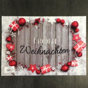 53-96-qm-Fussmatte-Frohe-Weihnachten-Des-938-Grau-Weiss-Rot-40-cm-60-cm