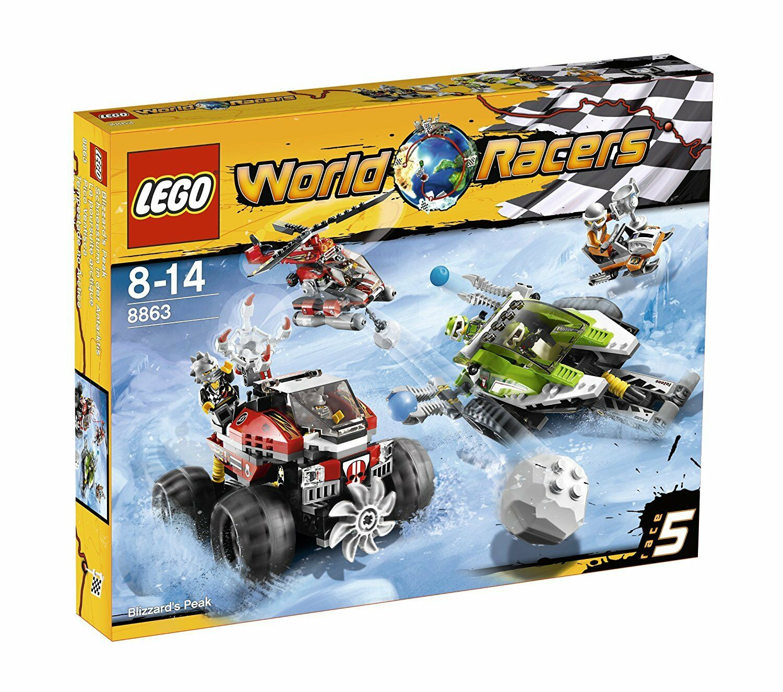Lego 8863 World Racers tempête de neige dans l'Antarctique