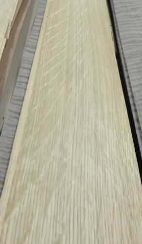 White Oak Quartered Flake wood veneer 5