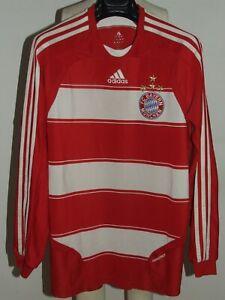 Soccer Jersey Trikot Maillot Bayern Monaco Long Sleeve Formotion Size L