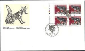 Canada    # 1175 ULpb     TIMBER WOLF      Brand New 1990 Unaddressed Issue