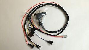 other parts 1969 camaro nova engine starter wiring harness 307 327 350 hei  warning lights vintage