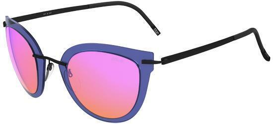 Gafas de Sol Silhouette EXPLORER LINE EXTENSION 8155 BLUE/PINK MIRROR mujer