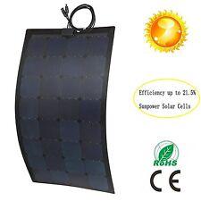 SunPower Semi Flexible Photovoltaic Solar Panel 100W Fiberglass(ETFE+PCB)US sold