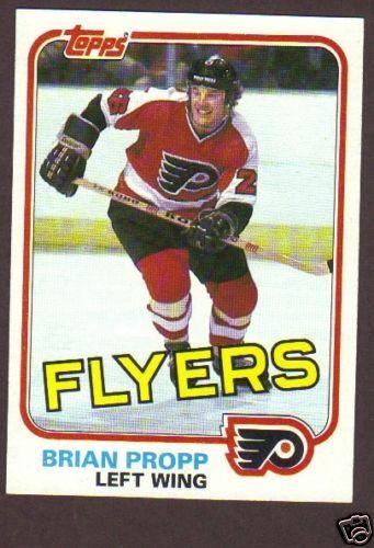 1981-82 Topps Hockey Brian Propp #110 Phil Flyers NM/MT