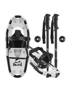 ALPS-Kids-Snowshoes-For-Youth-amp-Boy-amp-Girl-Optional-Snowshoe-Poles-Free-bag-14-17-19