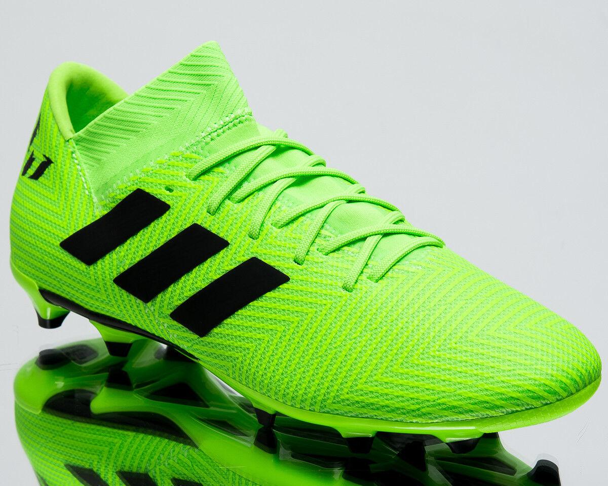 Adidas nemeziz Messi 18.3 FG para Hombre Botines De Fútbol Nuevo verde Solar DB2113