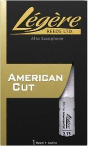 Legere Reeds Alto Saxophone American Cut 2.75 ASA275