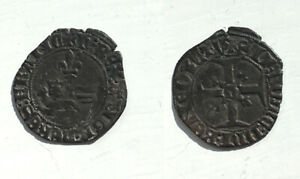 Anglo Gallic - HENRY V - billion Niquet or Leopard. - Rouen mint