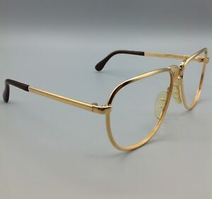VINTAGE-Marwitz-7806-BC2-cal-56-occhiali-eyeglasses-gold-frame-made-in-Germany