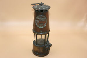 Image Is Loading Antique Br Metal Miners Mining Lamp Protector