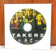 Takers Blu Ray Disc 2011 Ebay