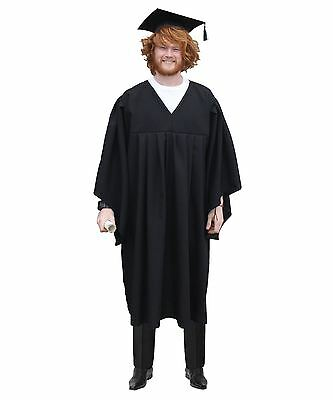 The Dragons Den Graduation Gown Headmaster Robes Fancy Dress Costume