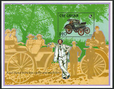 Gambia 1393 S/S, MI Bl.194, MNH. 1st Benz 4-wheel automobile, cent. 1993
