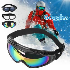 Winter Snow Ski Snowboard Goggles UV400 Anti Fog Windproof Cycling Sunglasses
