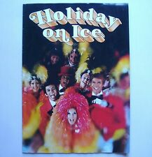 Programme spectacle holiday On Ice 1977 snoopy superstar - vintage