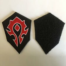 World of Warcraft WOW Horde Insignia Emblem Military Tactical Morale Badge Patch