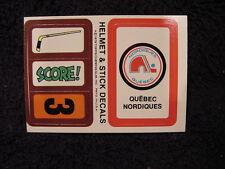 SUPER RARE ODDBALL Quebec Nordiques Hockey Item, VINTAGE&MINT, NEED IT?