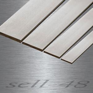200 cm piatti 50x8 piatto in acciaio INOX levigato v2a